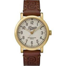 【送料無料】腕時計 ウォッチオリジナルコレクションtimex tw2p96700, men039;s brown leather watch, indiglo, originals collection