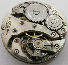 【送料無料】腕時計 ウォッチスイスラウンドインバームーブメントswiss round movement invar w amp; co watch movement 15 jewels 2 adj for part