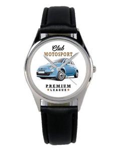 【送料無料】腕時計 ウォッチフィアットドライバーkiesenberg uhr mit auto motiv fr fiat 500 fahrer 10149b