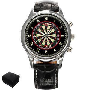 【送料無料】腕時計 ウォッチダーツダートメンズdarts dartboard mens wrist watch gift engraving
