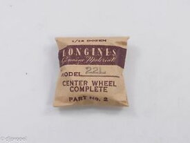 【送料無料】腕時計 ウォッチセンターホイールピニオンlongines genuine material part 2 center wheel amp; pinion for longines 22l