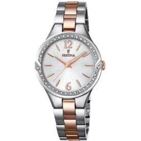 【送料無料】腕時計 ウォッチコンorologio da donna festina con cristalli f202471 bracciale omaggio