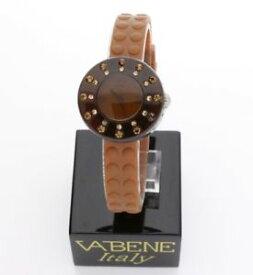【送料無料】腕時計 ウォッチブラウンラバーストラップブランドvabene womens brown small quartz watch brown rubber strap brand rrp 9900