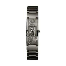 【送料無料】腕時計 ウォッチミニサインドナヌオーヴォネロguess orologio donna mini autograph w12097l2 nuovo originale acciaio lucido nero