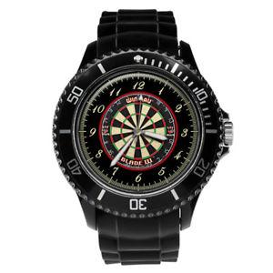【送料無料】腕時計 ウォッチダーツダートメンズメンズプレゼントdarts dartboard mens gents mens wrist watch engraving birthday gift