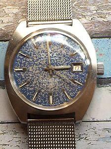 【送料無料】腕時計 ウォッチドクサコンキスタドールスチールメンズウォッチ1960s doxa conquistador automatic steel mens watch stunning patina 36mm
