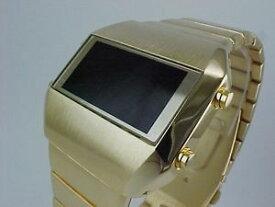 【送料無料】腕時計 ウォッチショップレトロゴールドtimeshopuk retro led watch gold