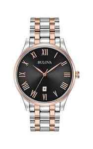 【送料無料】腕時計 ウォッチディーラーメンズクラシックステンレススチールブレスレットauthorized dealer bulova mens classic stainless steel bracelet watch 98b279