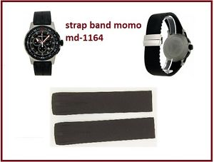 【送料無料】腕時計 ウォッチストラップモモデザインパイロットプロクロノcinturinostrap momo design md116401bkbkrb pilot pro chrono