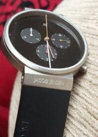 【送料無料】腕時計 ウォッチクロノグラフサファイアガラスチタンケースクラスプvgc jacob jensen 600 chronograph, sapphire glass titanium case and clasp,rrp 310