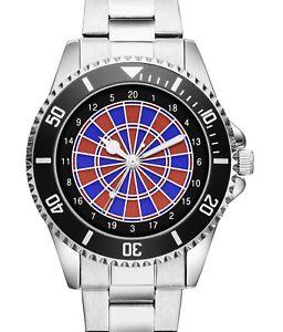 【送料無料】腕時計 ウォッチダーツダートダーツファンe dart dartboard pfeile elektronisch darts fan geschenk uhr 20184