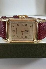 【送料無料】腕時計 ウォッチアールデコkタンクa 1940s ww ll era gents longines art deco 10k gf tank watch recently serviced