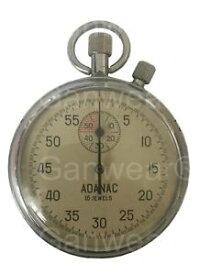 【送料無料】腕時計 ウォッチビンテージボタンソビエトソストップウォッチrare vintage old adanac 2button soviet stop watch ussr zlatoust 1980s 16 jewels