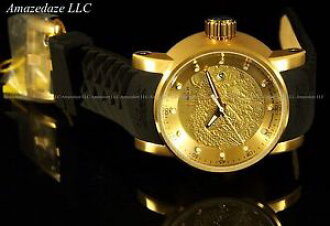 c5f68523689 Watch watch invicta men s1 yakuza dragon nh35a auto 18k gold plated  stainless stee watch