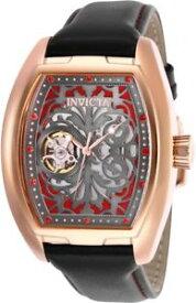 【送料無料】腕時計 ウォッチラリートノージュエルオープンハートローズinvicta tonneau s1 rally 24 jewel automatic open heart 18kt rose gold watch