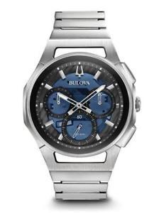 【送料無料】腕時計 ウォッチディーラーメンズクロノグラフウォッチケースneues angebotauthorized dealer bulova 96a205 mens curv chronograph 44mm case watch