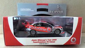 【送料無料】模型車 モデルカー スポーツカージェイミーチームボーダフォンフォードファルコンスケール#jamie whincup team vodafone ford fg falcon 2009 143 scale 20017