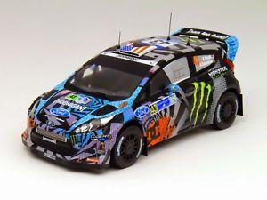 【送料無料】模型車 モデルカー スポーツカーネットワークフォードフィエスタ#ケンブロックラリーメキシコ