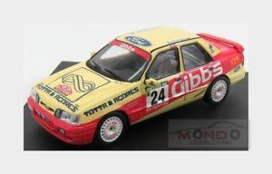 【送料無料】模型車 モデルカー スポーツカーフォードシエラコスワースラリーポルトガル#モデルford sierra cosworth 4x4 24 12th rally portugal 1991 trofeu 143 trmpn 223 model