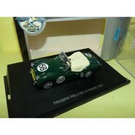 【送料無料】模型車 モデルカー スポーツカールマンユニバーサルtriumph tr2 68 le mans 1955 universal hobbies 143 19me