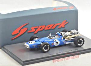 【送料無料】模型車 モデルカー スポーツカースパークマトラフランスグランプリ# 143 spark matra s5383 ms11, france gp 1968, beltoise 6