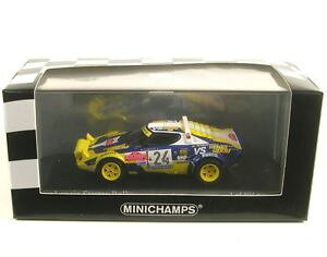 【送料無料】模型車 モデルカー スポーツカーランチアサンレモレースlancia stratos number 1 24 san remo race 1980 f tabatone radaelli
