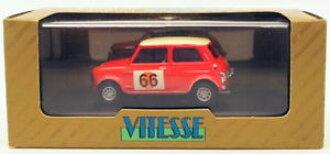 Hokushinco Model Car Sportscar Scale Austin Morris Mini Cooper Rally Vitesse 143 Vr04 66 1966 Rac
