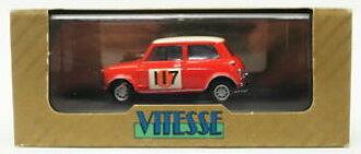 Hokushinco Model Car Sportscar Scale Austin Morris Cooper Rally Mini Vitesse 143 Vr13 117 1966 Rac