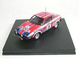【送料無料】模型車 モデルカー スポーツカースコットランドラリーtriumph tr7 n 14 scottish rally 1980