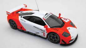 【送料無料】模型車 モデルカー スポーツカーマクラーレン#ブラバムモデルmclaren f1 gtr 6 bpr zhuhai 1996 raphanelbrabham 143 model