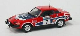 【送料無料】模型車 モデルカー スポーツカーラリーポンドjm 2133818 trofeu tf2003 triumph tr 7 n7 4th rac rally 1978 pond gallagher 1