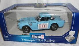 【送料無料】模型車 モデルカー スポーツカーモデルラリー#オリジナルボックスrevell 118 metal model 08873triumph tr 4 rally 155 in original box