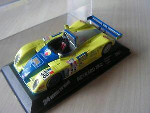 【送料無料】模型車 モデルカー スポーツカーレースカールマンセリエ143 car race car reynard 2kqq 24 hours of le mans 2001 serie 8