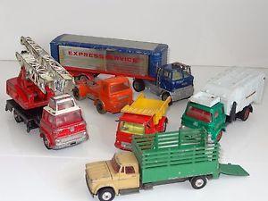 【送料無料】模型車 モデルカー スポーツカーベッドフォードアルビオンジョーンズcorgi dinky lot of 6 bedford tk albion jones lorries