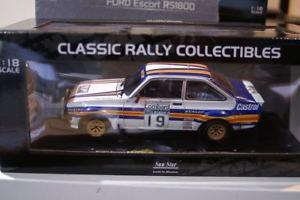 【送料無料】模型車 モデルカー スポーツカーサンスターフォードエスコートラリースケールsunstar ford escort rs1800 mk2 rac rally 1980 4497 118 scale