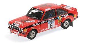 【送料無料】模型車 モデルカー スポーツカーフォードエスコート#ラリークラークペグモデルford escort ii rs1800 6 winner rac rally 1976 r clarks pegg 118 model