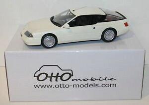 【送料無料】模型車 モデルカー スポーツカーオットースケールルノーアルパインターボホワイトotto 118 scale resin ot662 renault alpine gta v6 turbo white