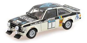 【送料無料】模型車 モデルカー スポーツカーフォードエスコート#ラリーマキネンモデルford escort ii rs1800 1 winner rac rally 1975 t makinenh liddon 118 model