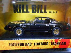 【送料無料】模型車 モデルカー スポーツカーポンティアックトランスビルpontiac firebird trans am 1979 v8 muscle car kill bill movie car 143 greenlight