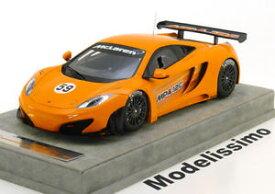 【送料無料】模型車 モデルカー スポーツカーマクラーレングアテマラバージョンオレンジ118 tecnomodel mclaren mp412c gt3 press version a 2011 orange