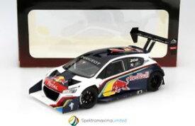 【送料無料】模型車 モデルカー スポーツカープジョーローブパイクスピークレースpeugeot 208 t16 loeb pikes peak mountain race 2013 118 autoaart 81354