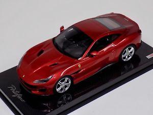 【送料無料】模型車 モデルカー スポーツカーロッソポルトフィーノカーボンベースコレクションフェラーリハードトップ118 mr collection ferrari potofino with hard top in rosso portofino carbon base