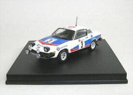【送料無料】模型車 モデルカー スポーツカーギャラガースパトニーtriumph tr7 3 tony pond for gallagher spa 1977
