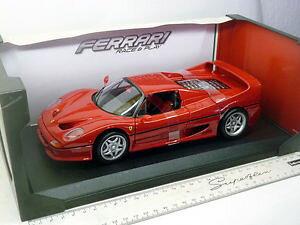 【送料無料】模型車 モデルカー スポーツカーフェラーリフェラーリレース16004r bburago 118 ferrari f50 red ferrari race amp; play