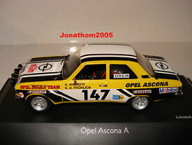 【送料無料】模型車 モデルカー スポーツカーschuco opel ascona has 147rally mounted carlo 1973 au 143schuco opel ascona has 147 rally mounted carlo 1973 au 143