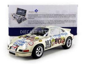 【送料無料】模型車 モデルカー スポーツカーポルシェルグランドバザールsolido 118 porsche 911 rsr le grand bazar 1973 1801106