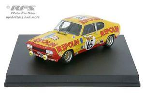 【送料無料】模型車 モデルカー スポーツカーフォードカプリ2600 rsツールドフランス1972larrousse143 trofeu 2314ford capri 2600 rstour de france auto 1972 larrousse rives 143 trofeu 2