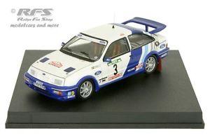 【送料無料】模型車 モデルカー スポーツカーフォードrsコスワースポルトガル1988blomqvist 143 trofeu 0116ford sierra rs cosworth rally portugal 1988 blomqvist 143 trofeu 0116