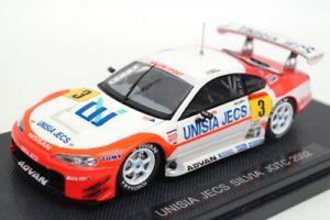 【送料無料】模型車 モデルカー スポーツカーユニシアジェックスシルビア#モデル143 ebbro 44887 unisia jecs silvia jgtc 2002 3 resin model