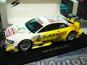 【送料無料】模型車 モデルカー スポーツカーアウディクーペ#テストaudi a5 coupe v8 dtm 2012 as a result 4 postal mail car test abbot resin spark